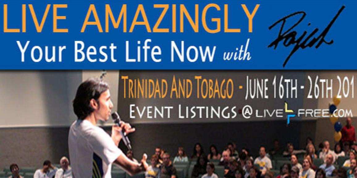 Live Amazingly Tour 2013 – Trinidad and Tobago