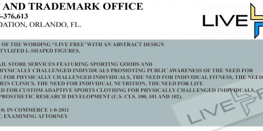 Awarded Trademark from the USPTO